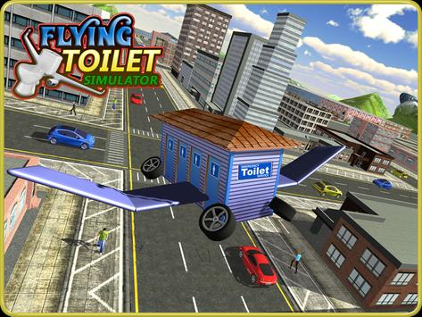 Flying Toilet Emergency Driver screenshot 10