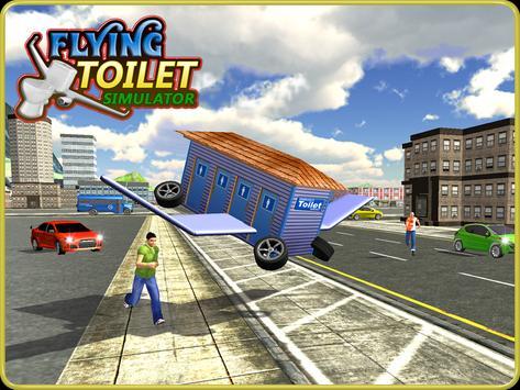 Flying Toilet Emergency Driver screenshot 11