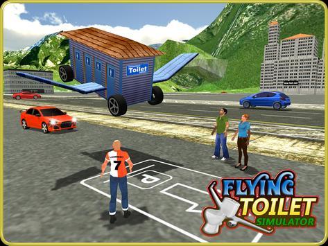 Flying Toilet Emergency Driver apk screenshot
