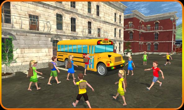 Kids School Trip Bus Game 3D apk screenshot