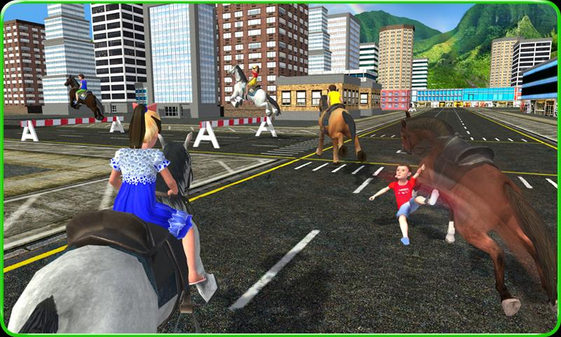 Kids Street Horse Racing 2017 For Android Apk Download