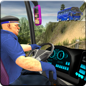 OffRoad Transit Bus Simulator - Hill Coach Driver-icoon