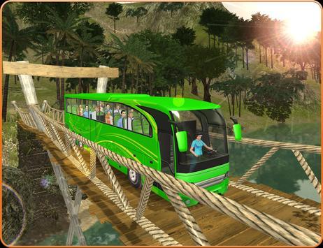 OffRoad Transit Bus Simulator - Hill Coach Driver スクリーンショット 6