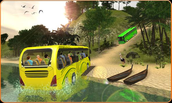 OffRoad Transit Bus Simulator - Hill Coach Driver ポスター