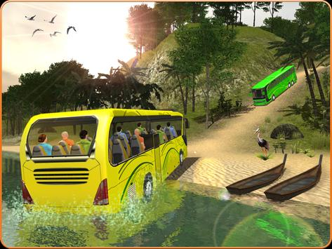 OffRoad Transit Bus Simulator - Hill Coach Driver スクリーンショット 10