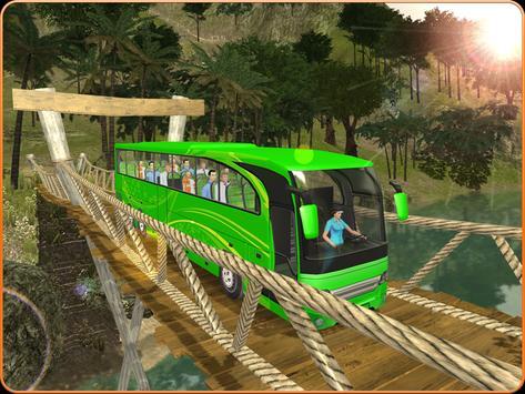 OffRoad Transit Bus Simulator - Hill Coach Driver スクリーンショット 11