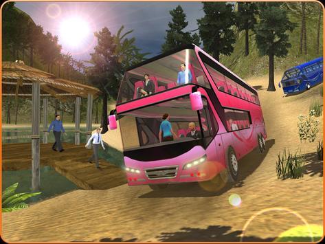 OffRoad Transit Bus Simulator - Hill Coach Driver スクリーンショット 12