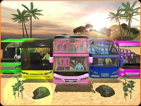 OffRoad Transit Bus Simulator - Hill Coach Driver スクリーンショット 14