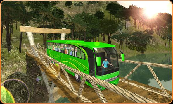OffRoad Transit Bus Simulator - Hill Coach Driver スクリーンショット 1