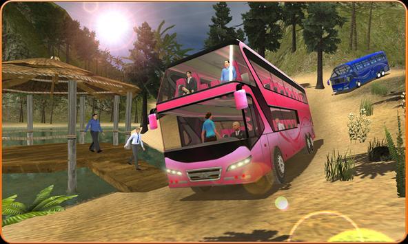 OffRoad Transit Bus Simulator - Hill Coach Driver スクリーンショット 2
