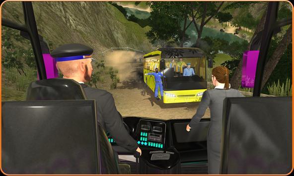 OffRoad Transit Bus Simulator - Hill Coach Driver スクリーンショット 3