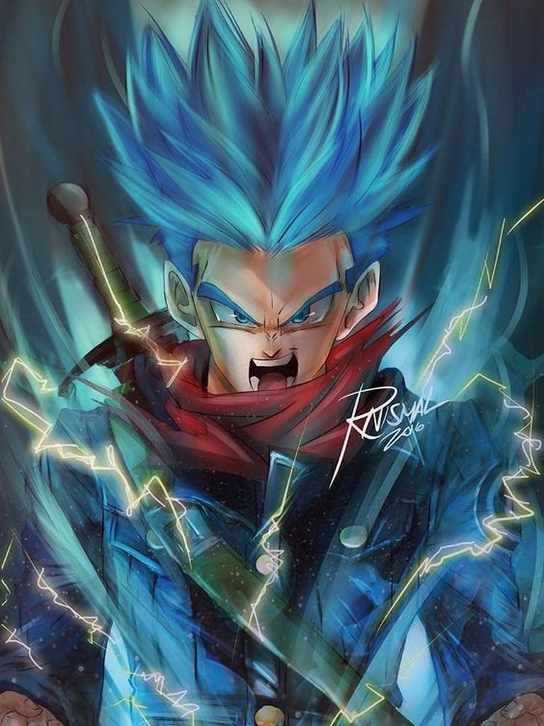 Future Trunks Dbz Wallpaper For Android Apk Download