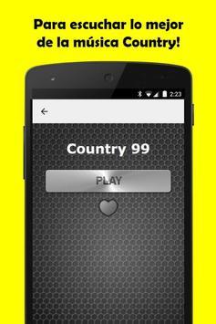 Musica Country Gratis screenshot 3