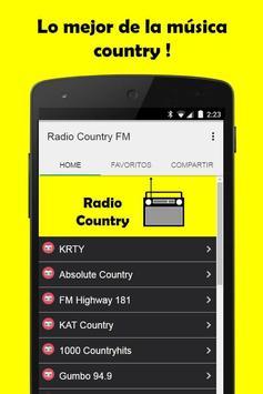 Musica Country Gratis screenshot 1