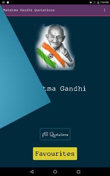 Mahatma Gandhi Quotations-Free poster