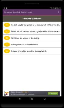 Mahatma Gandhi Quotations-Free apk screenshot