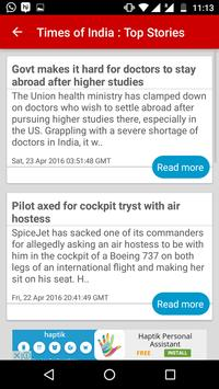 Read News in English & Marathi screenshot 3
