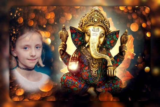 Ganesh Photo Frames : Lord Ganesh Photos screenshot 6