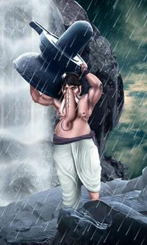 Ganesh Bahubali Live wallpaper poster