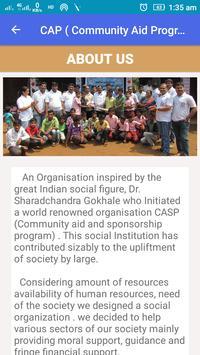 CAP ( Community Aid Program ) poster