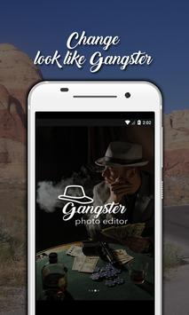 Gangster Photo Editor poster