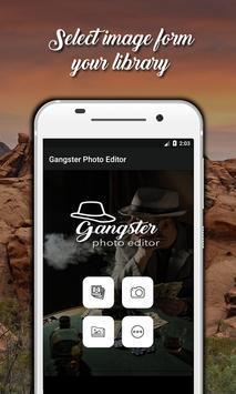Gangster Photo Editor screenshot 1