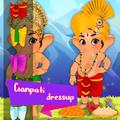Ganpati Dressup Coloring