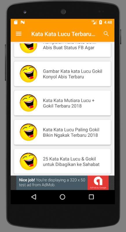 Kata Kata Lucu Gokil Terbaru Ngakak Abiss Fur Android Apk
