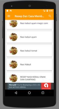 Resep Memasak Nasi Kebuli Enak screenshot 3