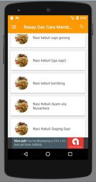 Resep Memasak Nasi Kebuli Enak screenshot 2