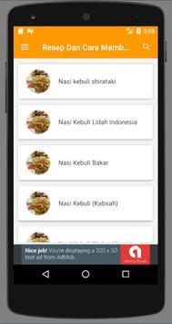 Resep Memasak Nasi Kebuli Enak screenshot 4