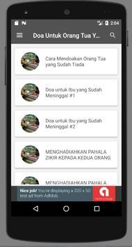 Doa Untuk Orang Tua Yang Sudah Meninggal screenshot 1
