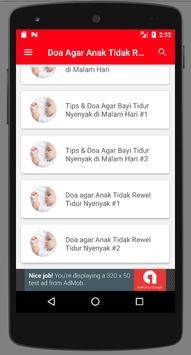 Doa agar Anak Tidak Rewel Tidur Nyenyak screenshot 4