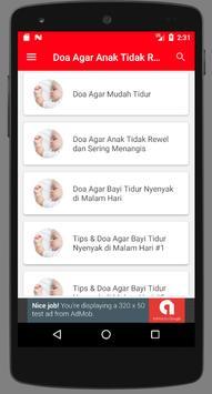 Doa agar Anak Tidak Rewel Tidur Nyenyak screenshot 3