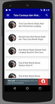 Doa Dan Tata Cara Mandi Wajib screenshot 2