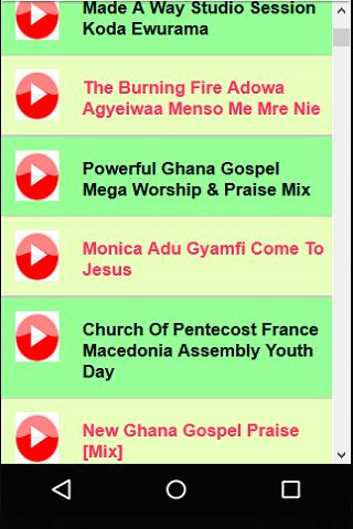 Ghana Praise & Worship Songs for Android - APK Download