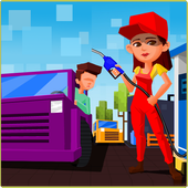 Gas Station-Fuel Frenzy icon