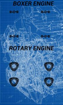 Boxer&Rotary Engine Sounds poster