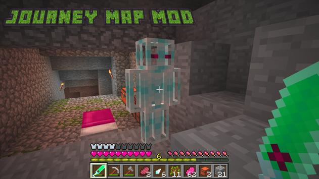 Journey Map MOD For MCPE PE APK Download Free Casual GAME For - Journeymap map para minecraft 1 11