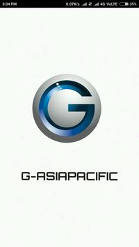 iCustomer App: G-Asiapacific poster