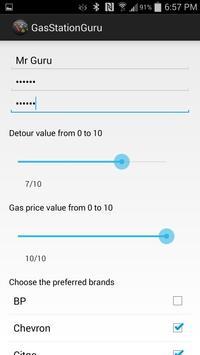 Gas Station Guru - Big Data apk screenshot