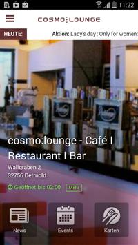 cosmo:lounge poster
