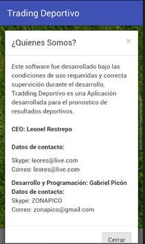 Trading Deportivo screenshot 1