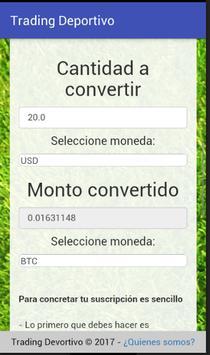 Trading Deportivo screenshot 3