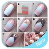 Nail Art Design Step By Step icon