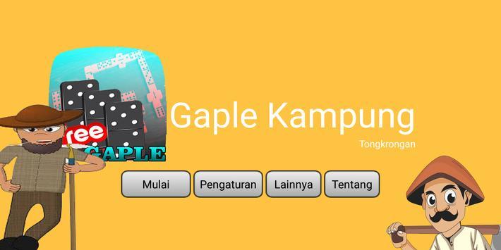 Gaple Kampung poster