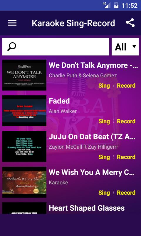Karaoke Sing and Record for Android - APK Download