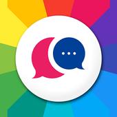 Emoji & Color Messenger icon