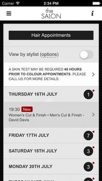 The Salon Hair & Beauty apk screenshot
