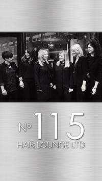 No 115 Hair Lounge poster